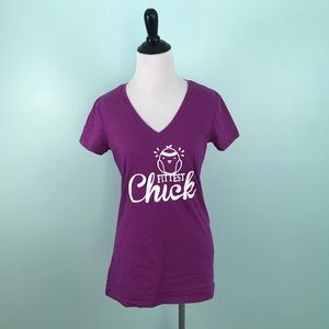 Under Armour Small Shirt Fittest Chick Semi Fitted